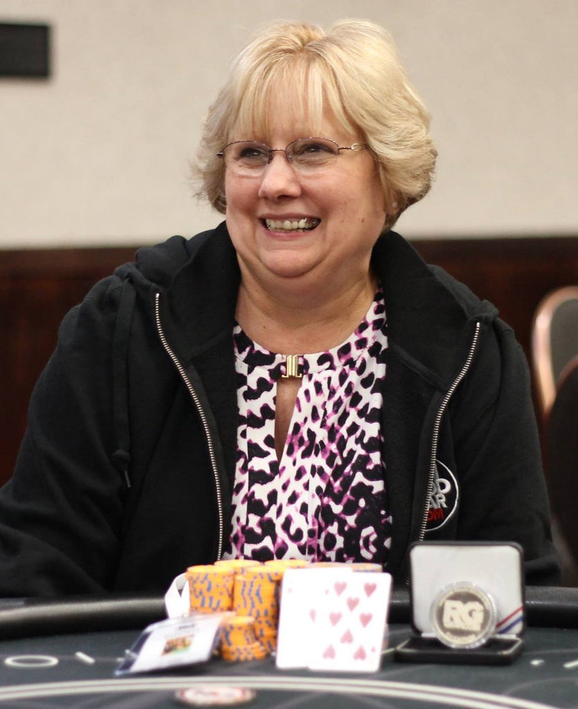 Congratulations to RG Pro Bounty tournament winner Vonda Richardson!