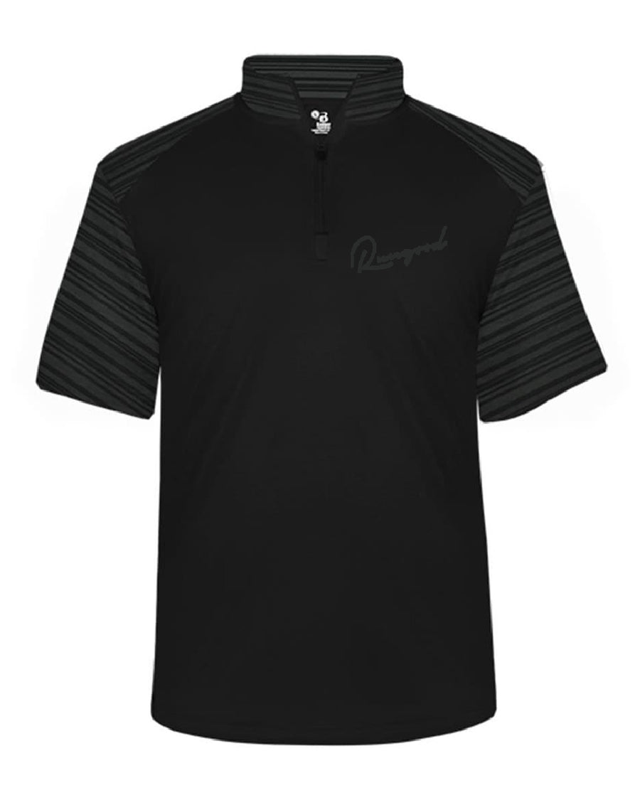 RUNGOOD Cursive Golf Tee - Dark Gray