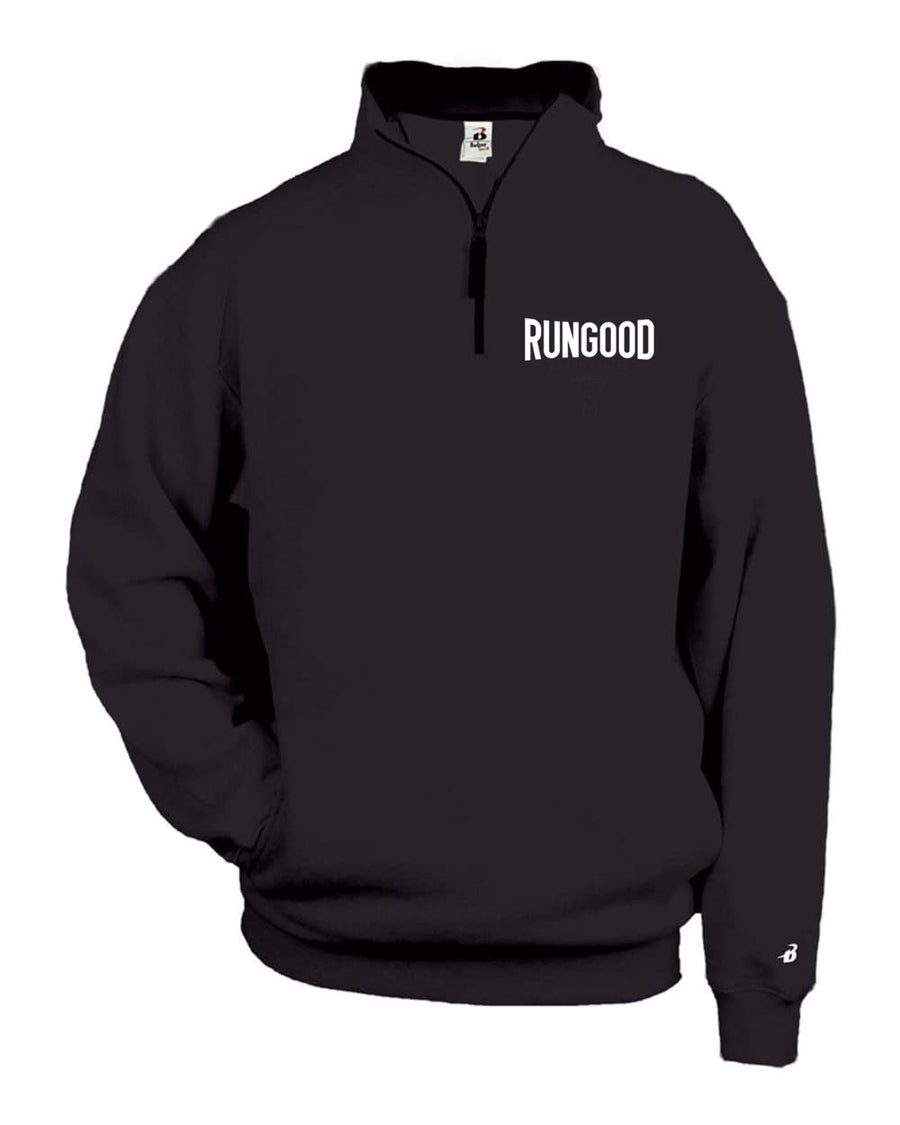 RUNGOOD Curve 1/4 Zip - Black