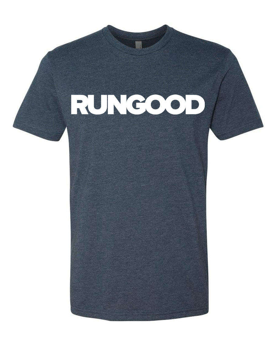 RUNGOOD Classic Heather Navy and White