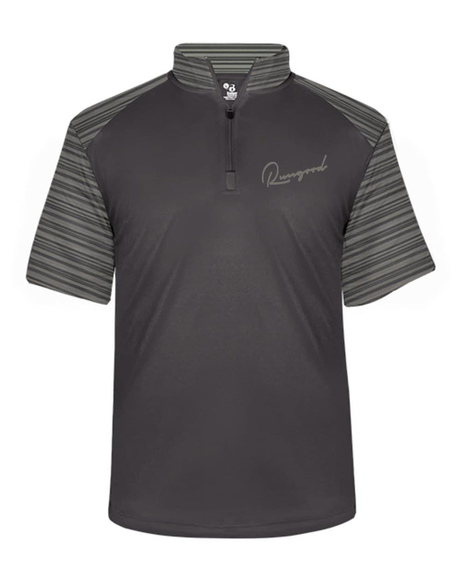 RUNGOOD Cursive Golf Tee - Light Gray
