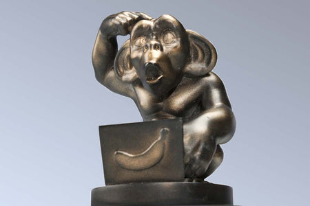 Fantasy Football Loser Trophy: 'Chumpanzee'