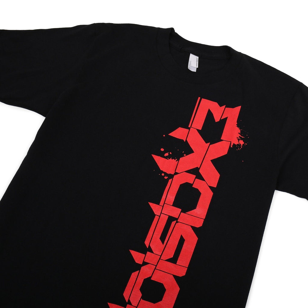 Excision Up Down Unisex T-Shirt - Black