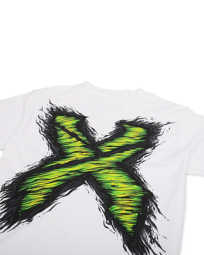 Excision Zombie X Unisex T-Shirt - White/Black/Green