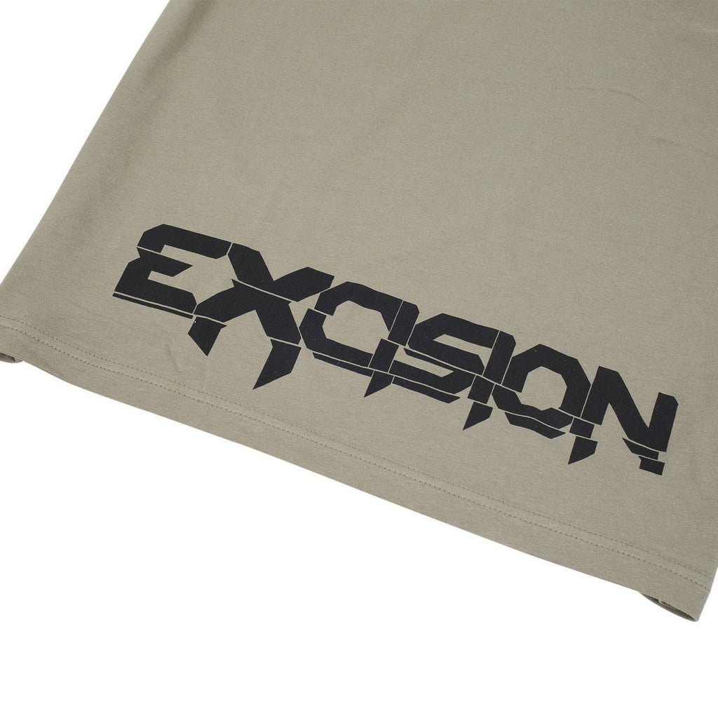 Excision X-Arms 2 Unisex T-Shirt - Olive Green
