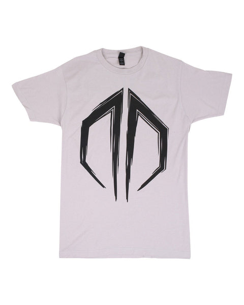 Destroid Logo Unisex T-Shirt - Grey/Black