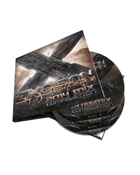 Excision 2014 Mix Compilation CD