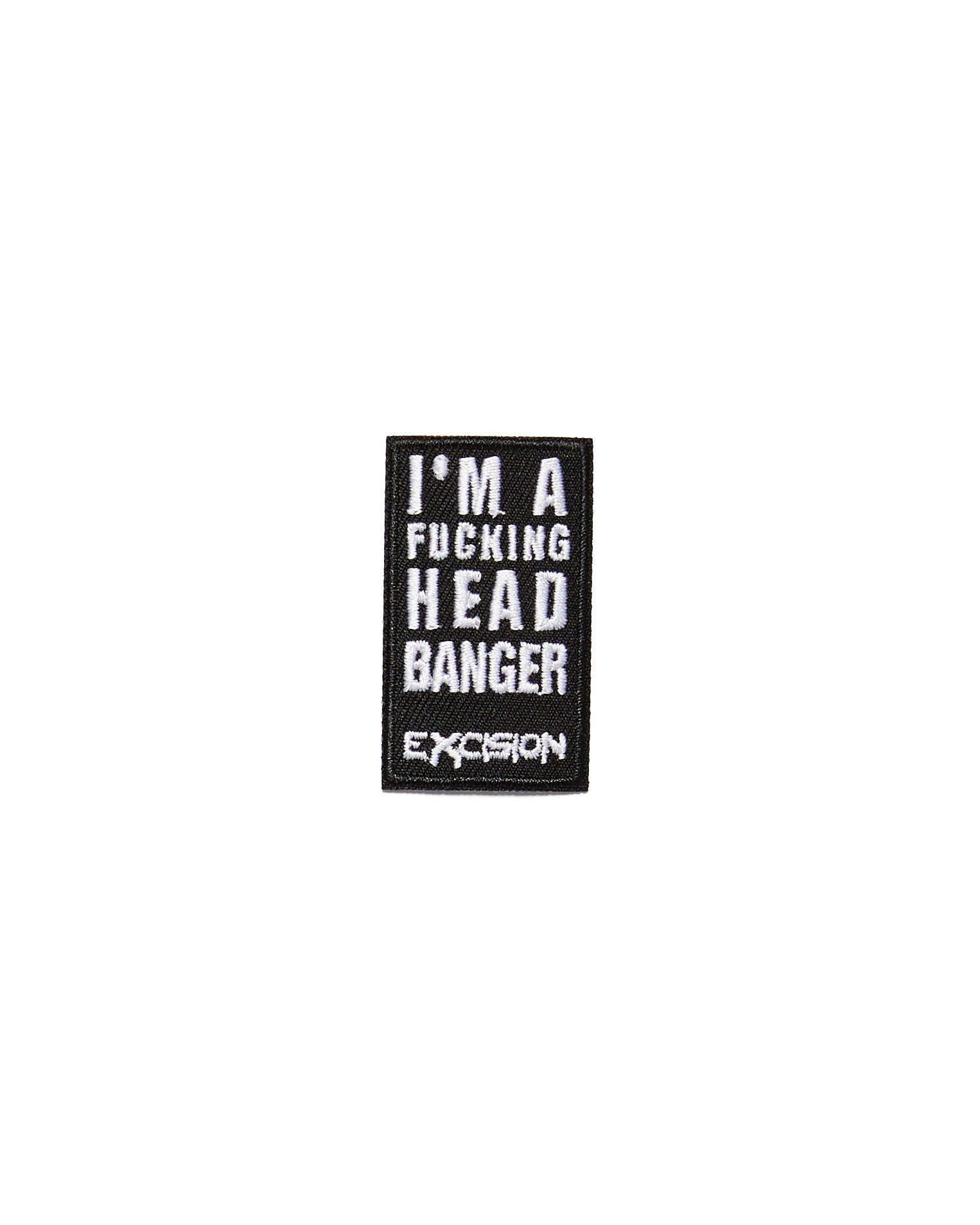 "Excision 'Headbanger' Patch - 1 1/8"" x 2"""