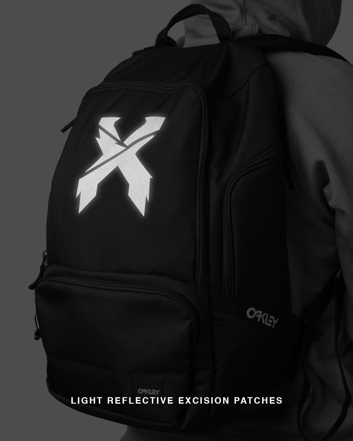 Excision x Oakley 'Sliced' Reflective Backpack