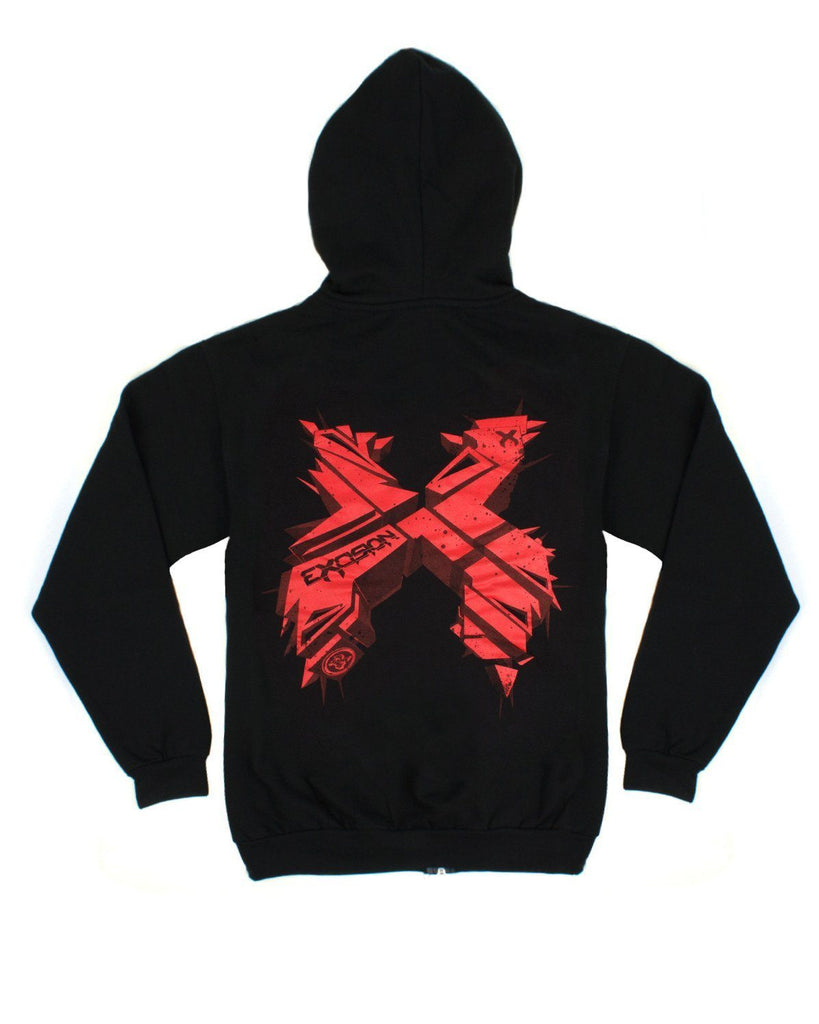 Excision 3DX Unisex Zip Up Hoodie