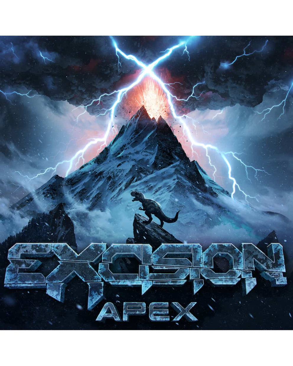 Excision 'APEX' T-Shirt + Album Bundle (Includes MP3 Download)