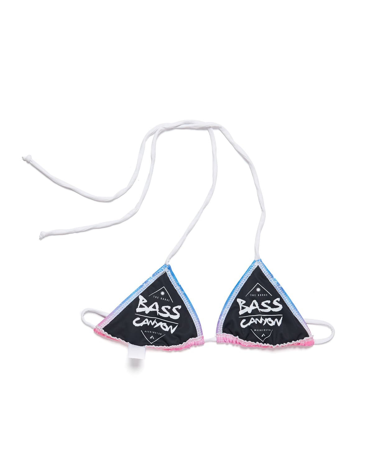 Official Bass Canyon Bikini Top - Pink/Blue