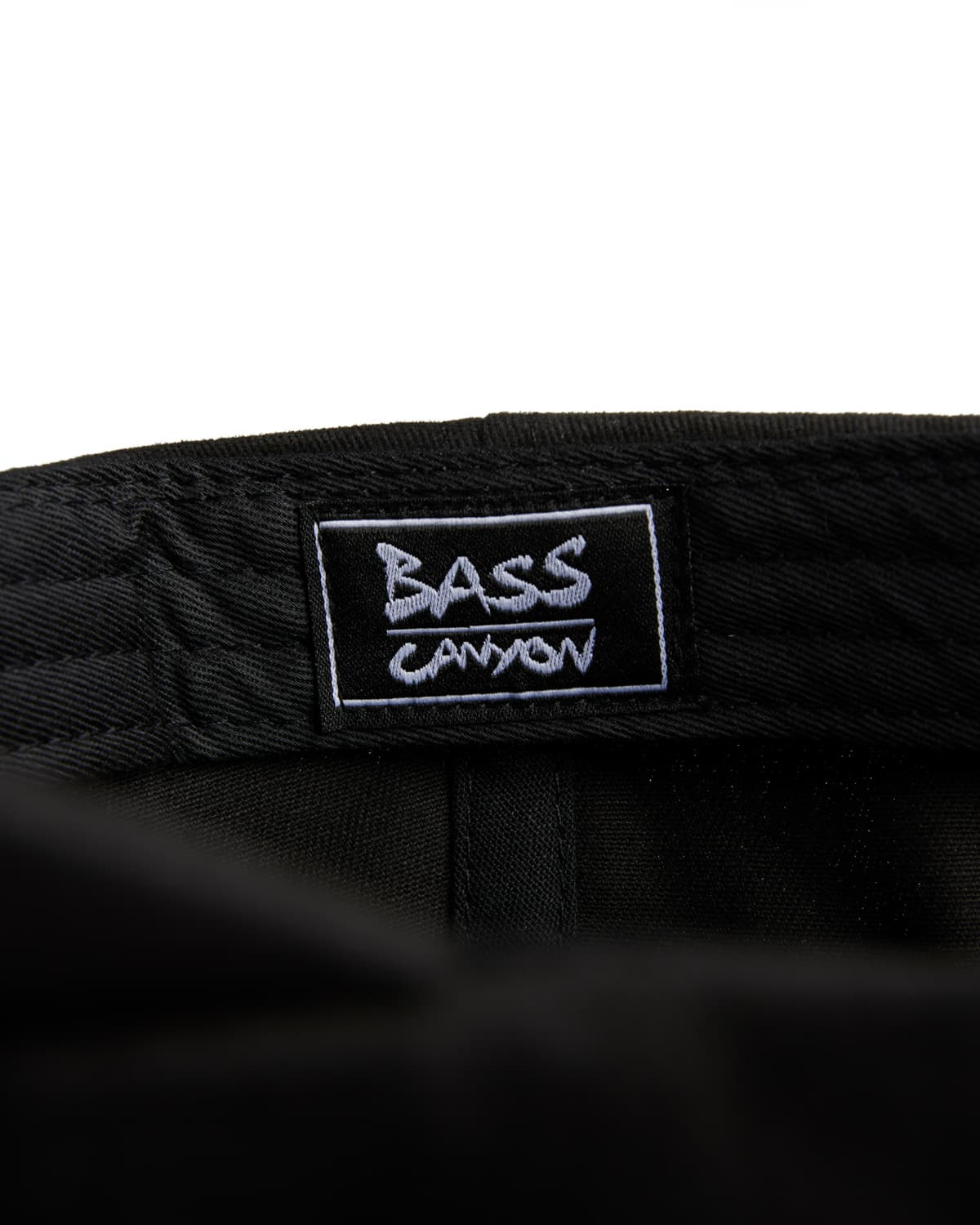 Bass Canyon Dad Hat - Black