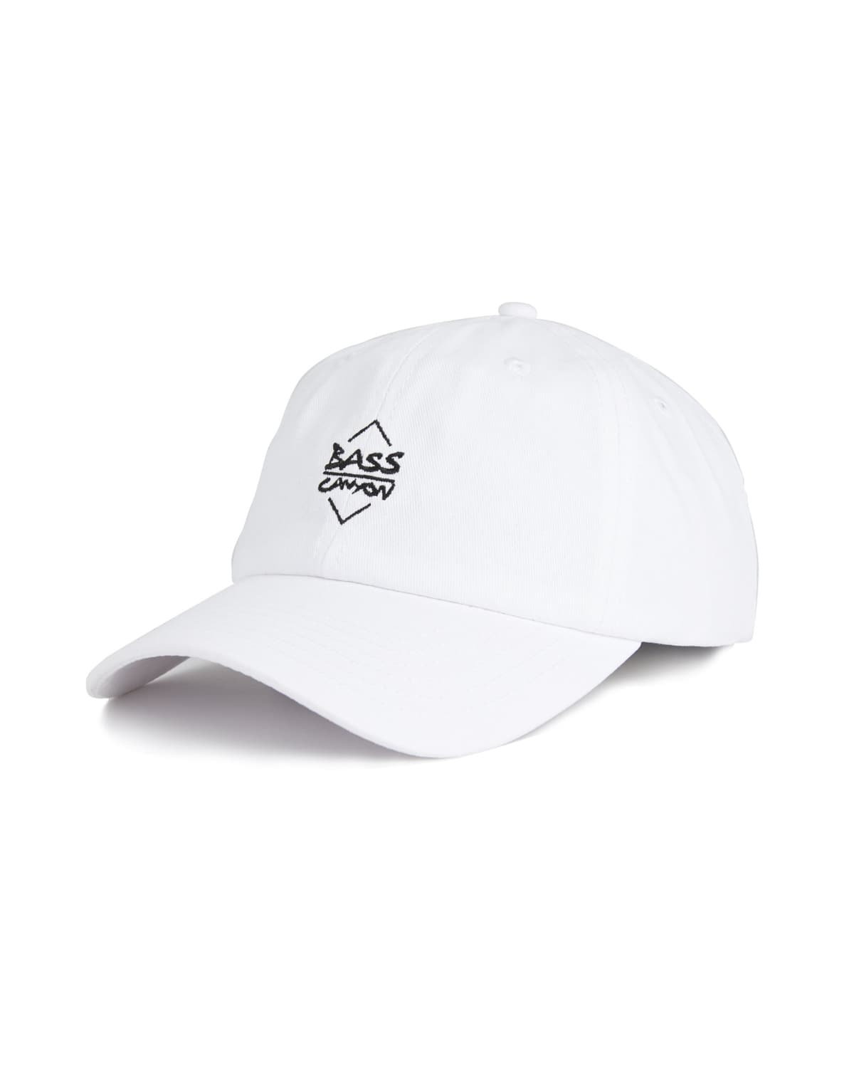 Bass Canyon Dad Hat - White