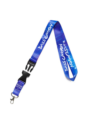 Official Bass Canyon 'Sky' Lanyard