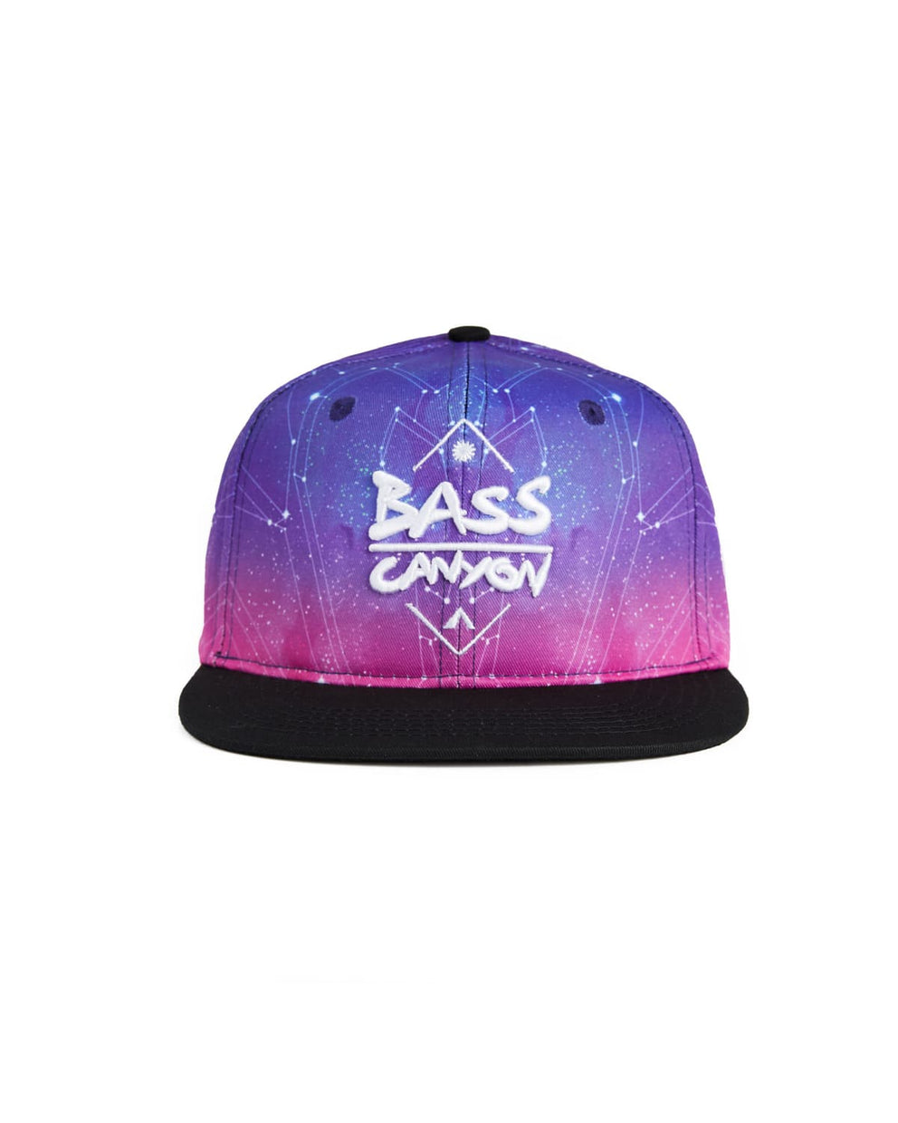 Bass Canyon 'Constellations' Snapback - Purple/Black