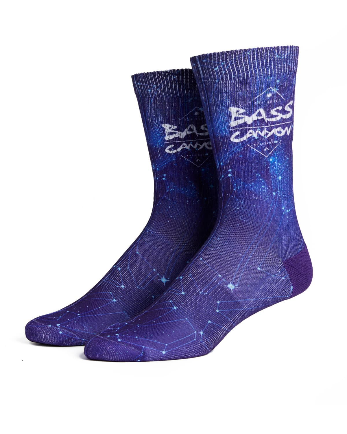 Bass Canyon 'Midnight' Socks