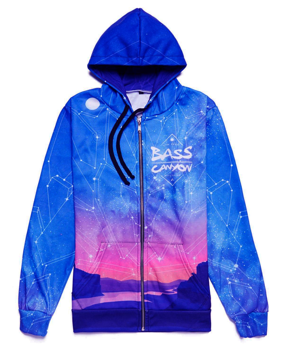 Official Bass Canyon 2018 'Sunset' Hoodie