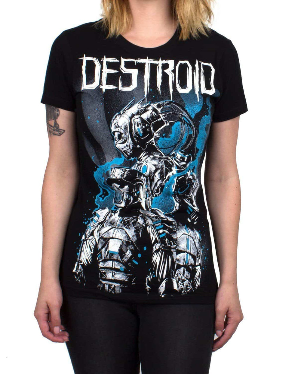 Destroid 3-Up Girls T-Shirt