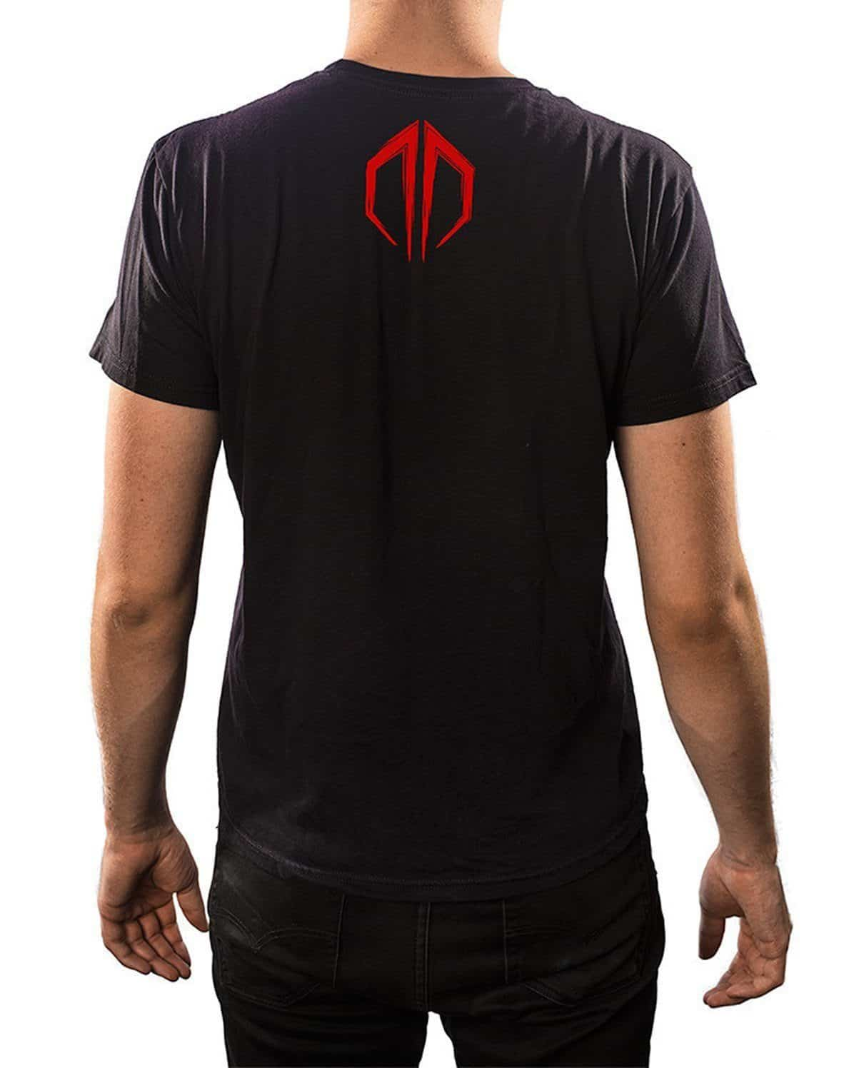 Destroid 3-Up Unisex T-Shirt-Black