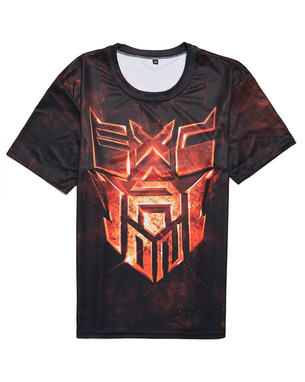 Excision 'Decepticon' Unisex T-Shirt - Ruby