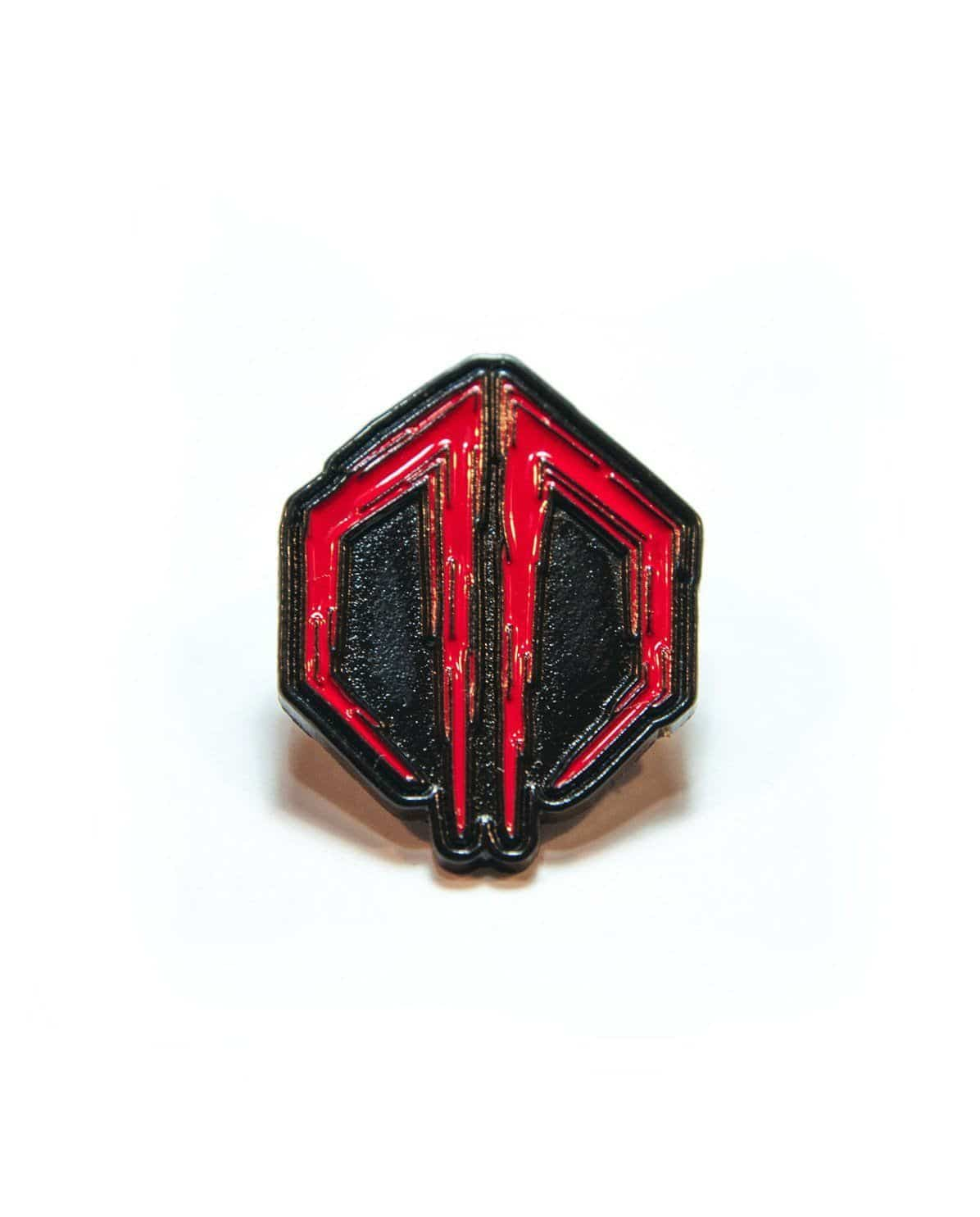Destroid Symbol Hat Pin