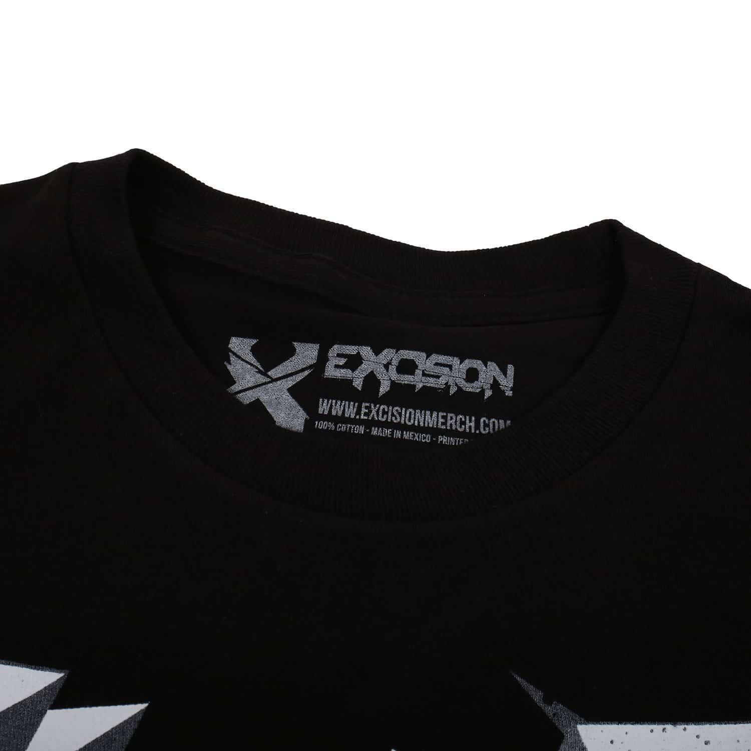 Excision 3DX Unisex T-Shirt - Black/White