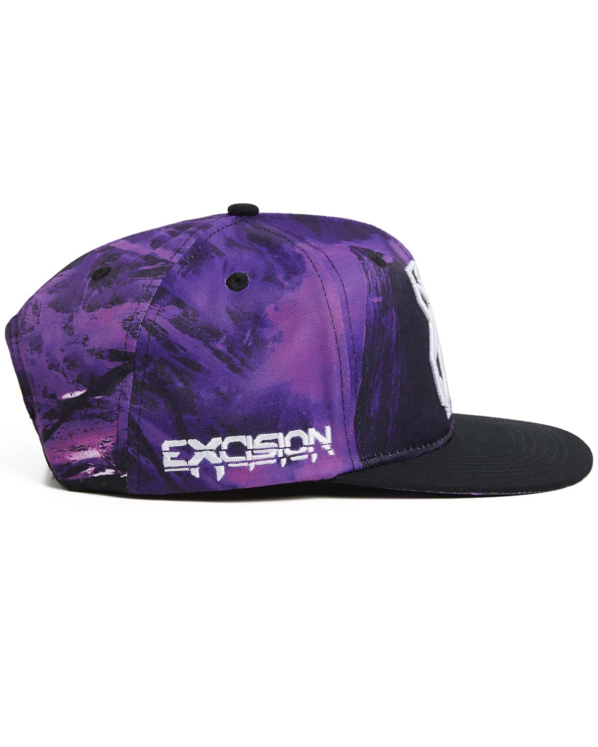 'Apex' Snapback - Black/Purple