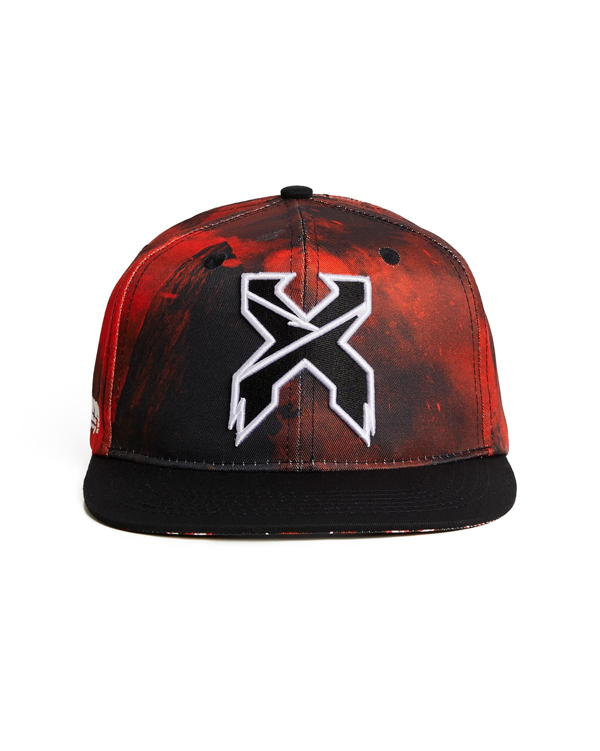 'Apex' Snapback - Black/Red