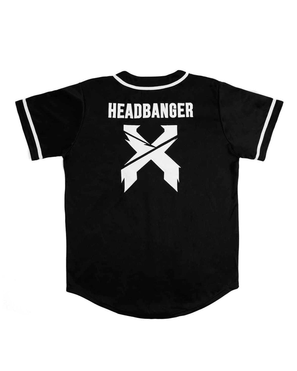 Excision Baseball Jersey - Black/White