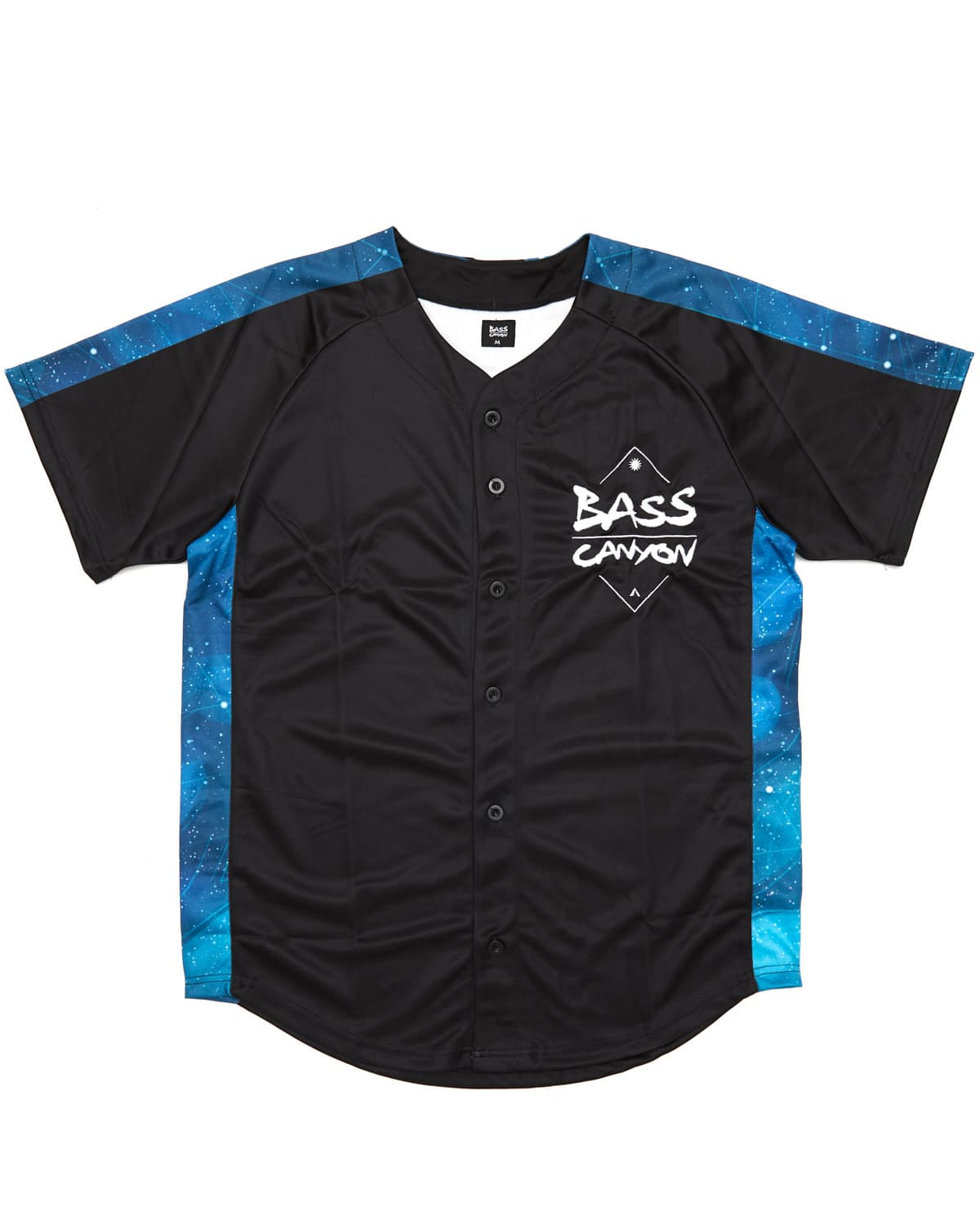 Excision 'Bass Canyon 2019' Baseball Jersey - Black/Blue
