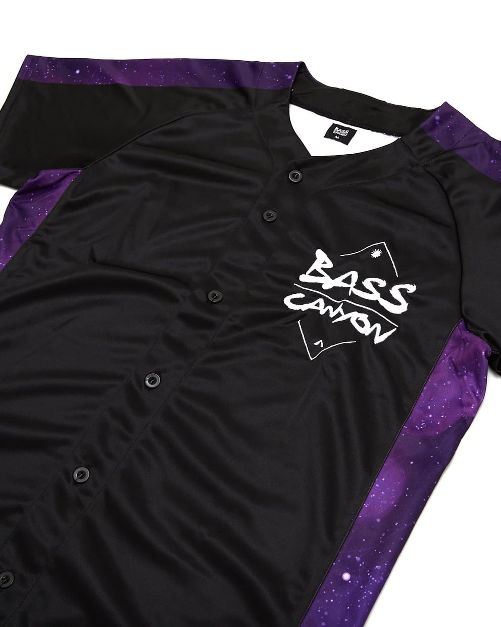 Excision 'Bass Canyon' Baseball Jersey - Black/Purple