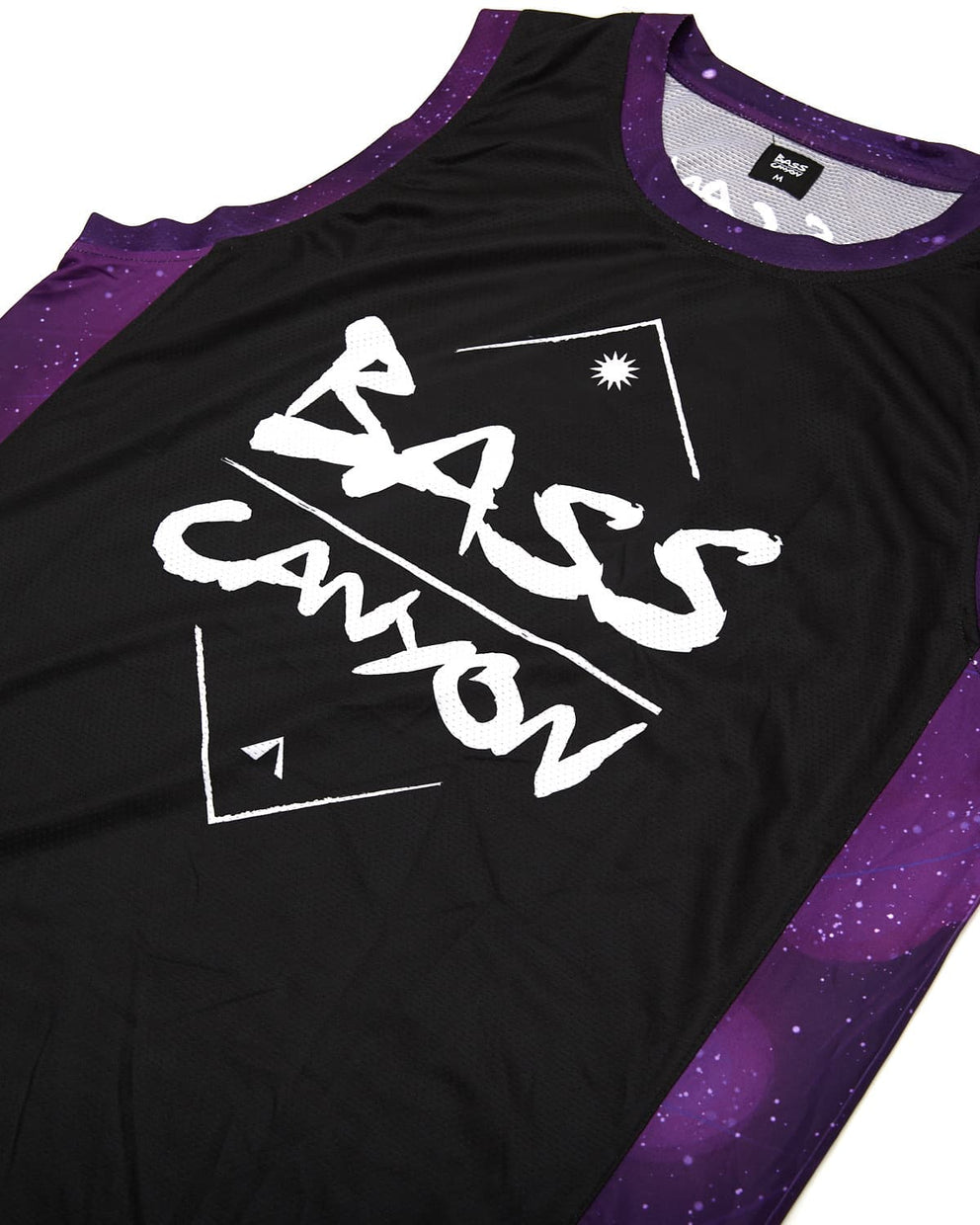 Excision 'Bass Canyon 2019' Basketball Jersey - Black/Purple
