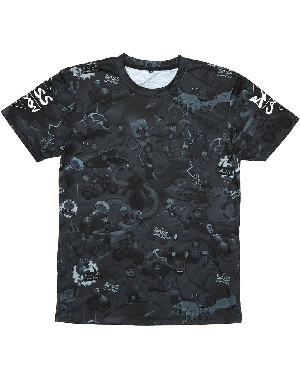 Bass Canyon 'Artists 2019' Dye-Sublimated Tee