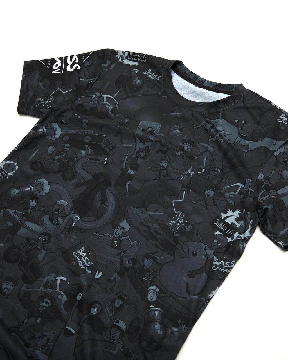 Bass Canyon 'Artists' Dye-Sublimated Tee