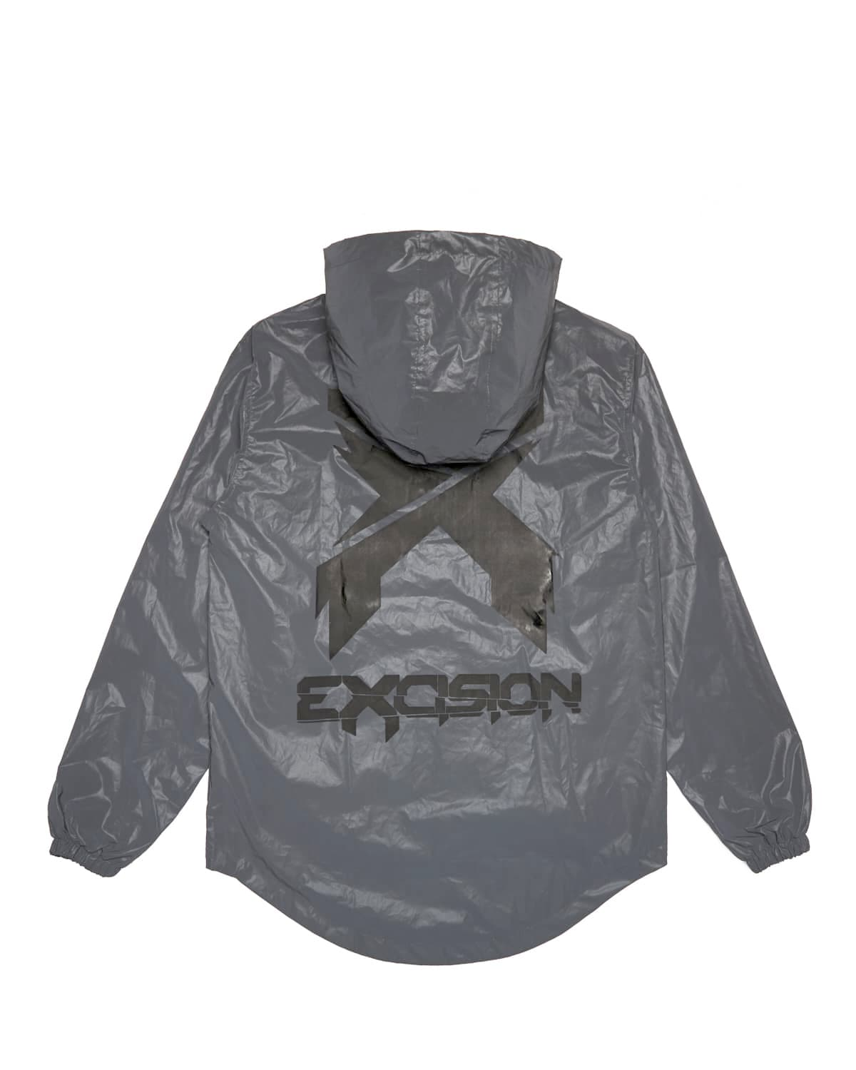 Excision Black Reflective Tech Jacket