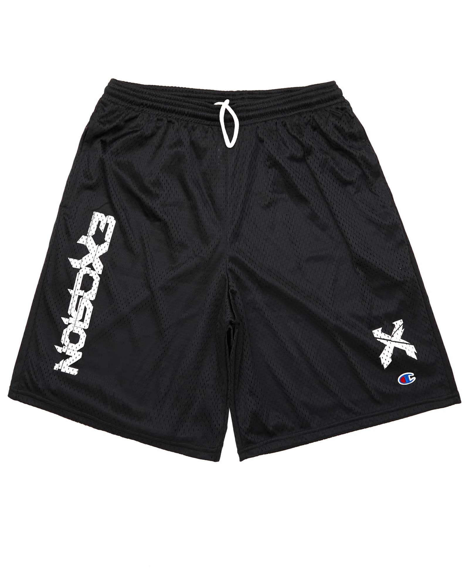 Excision x Champion 'Sliced' Logo Basketball Shorts