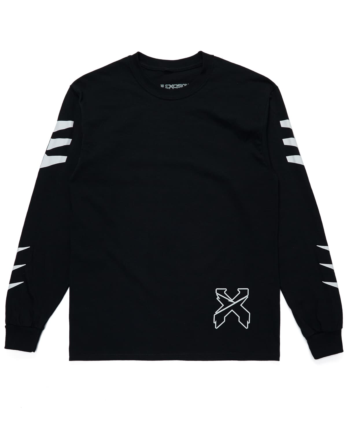 'Fragments' Long Sleeve Tee