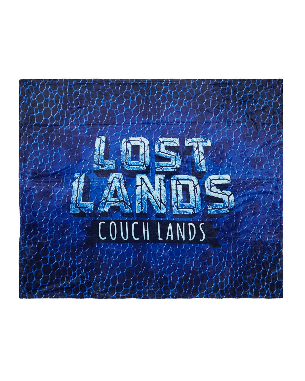 'Couch Lands' Dye Sub Blanket - Blue