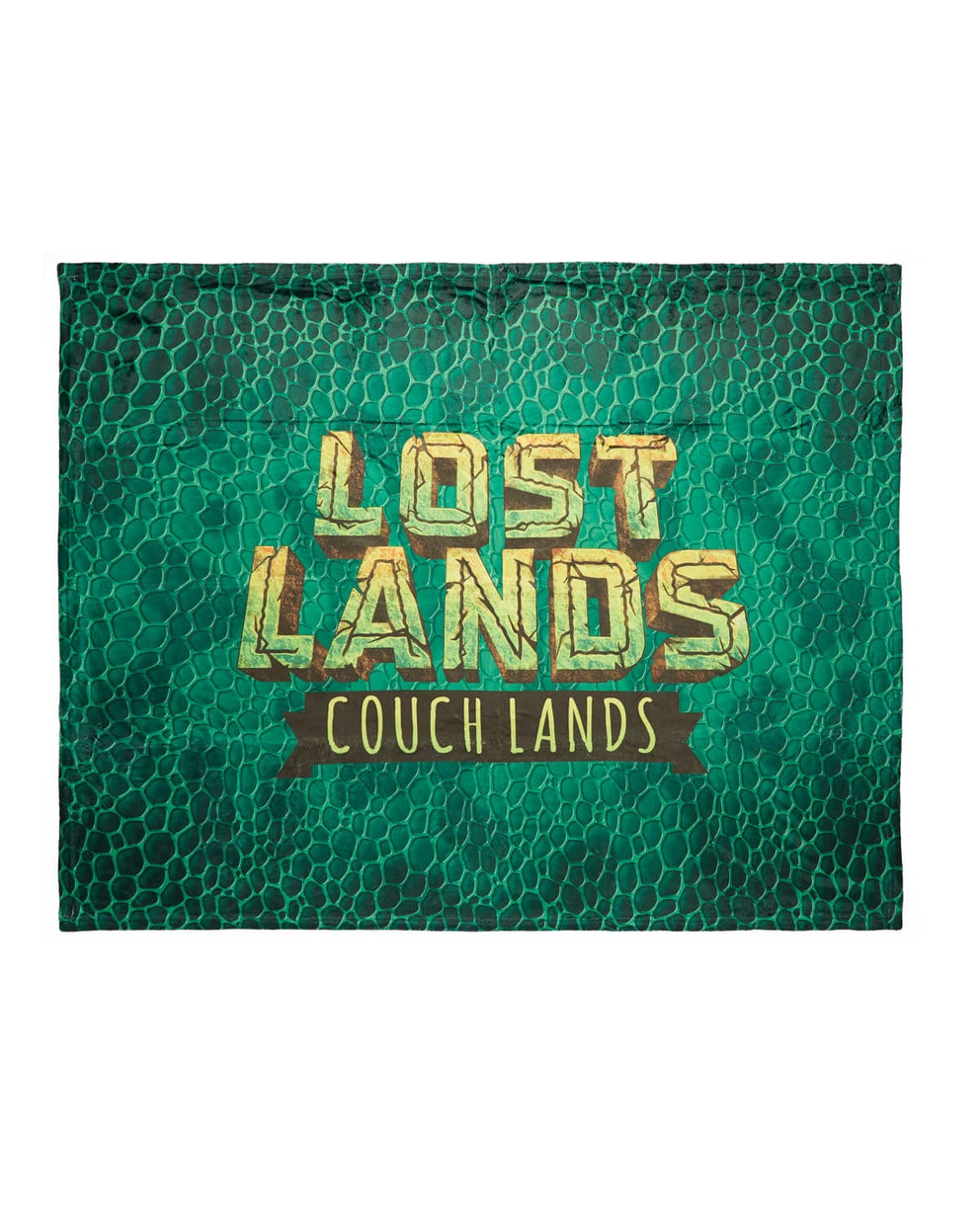 'Couch Lands' Dye Sub Blanket - Green