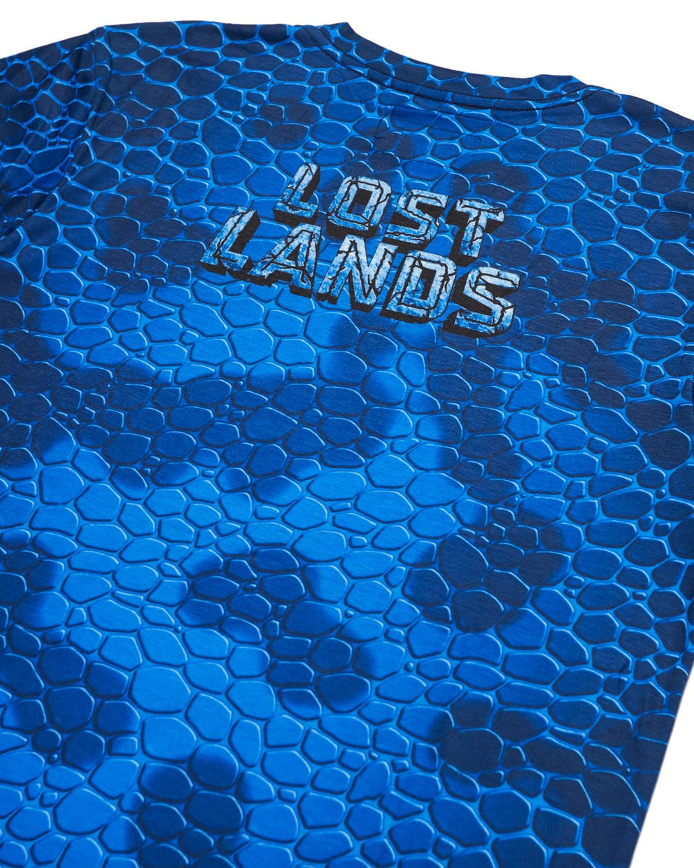 'Couch Lands' Dye Sub Tee - Blue