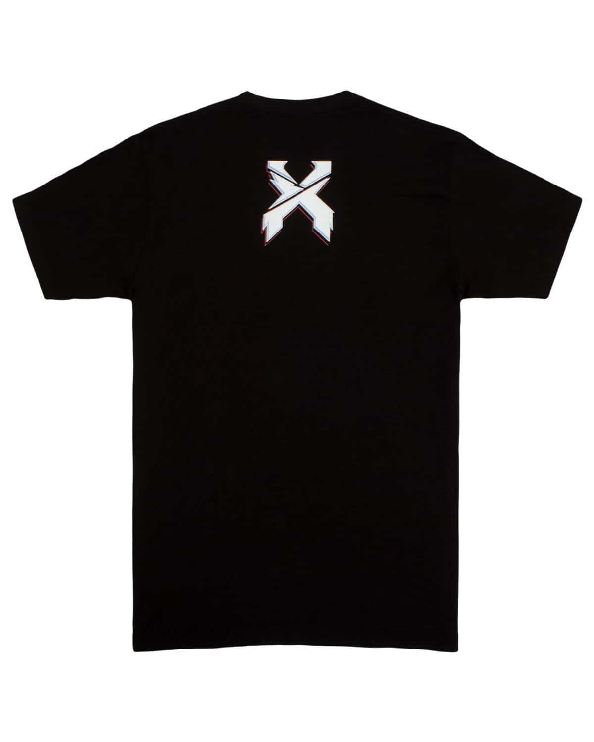 Excision 'Cyborg Rex' Unisex T-Shirt - Black/Red