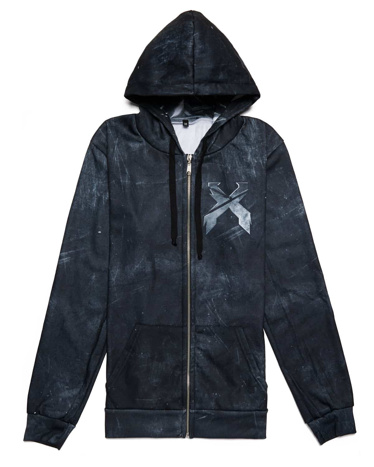 Excision 'Decepticon' Full-Zip Hoodie - Onyx