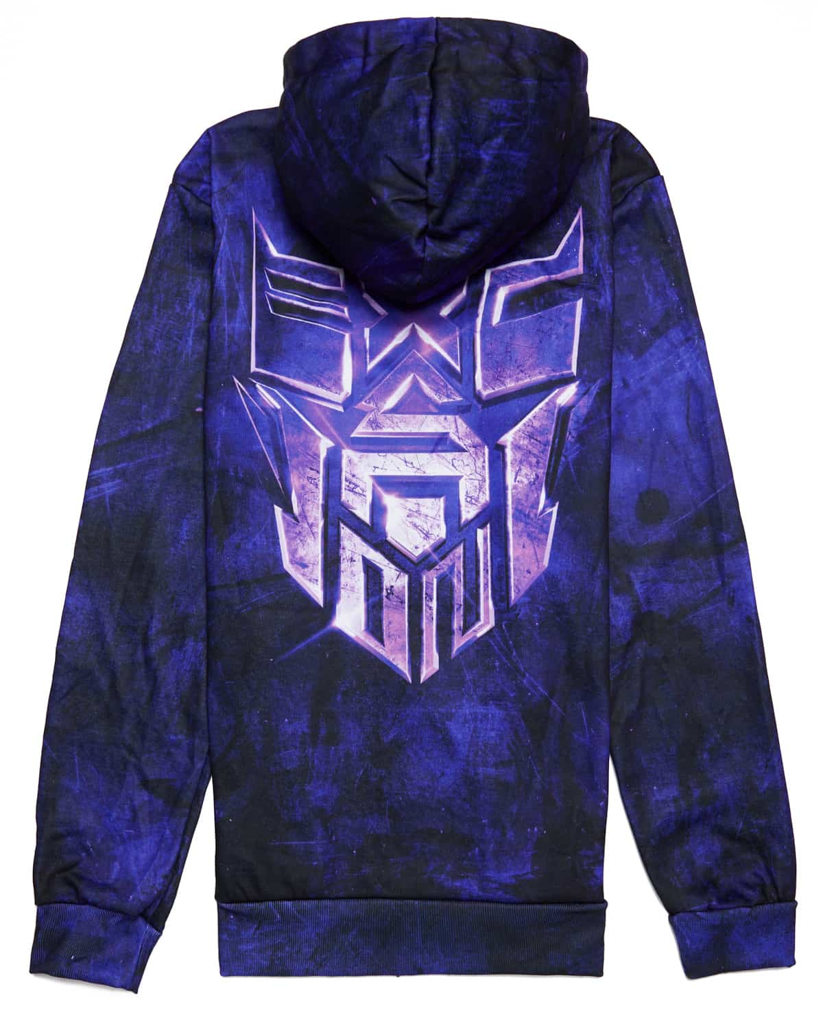 Excision 'Decepticon' Full-Zip Hoodie - Sapphire