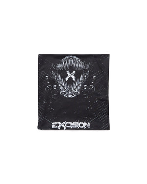 Evolution Tour Neck Gaiter - Black/White