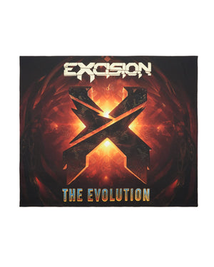 Evolution Tour Tapestry - Black/Orange
