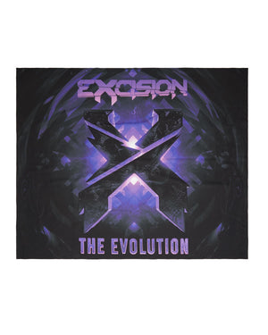 Evolution Tour Tapestry - Black/Purple