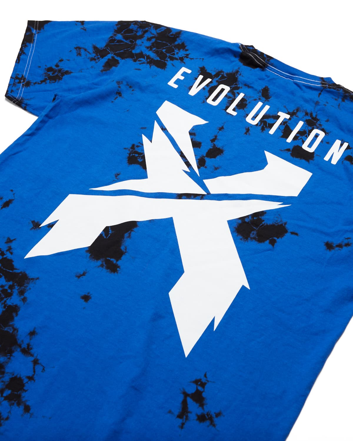Evolution Tour Tie Dye Tee - Blue/Black