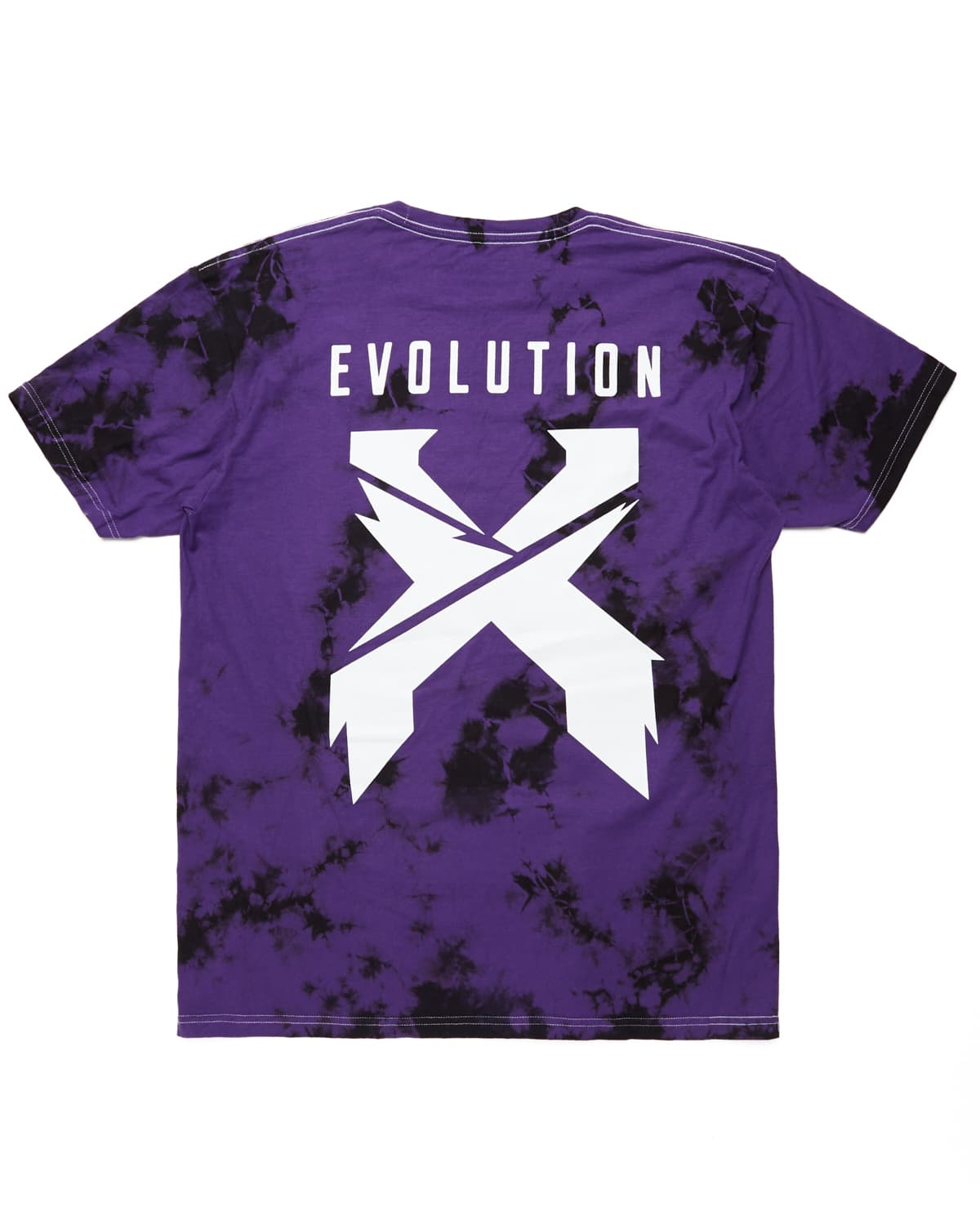 Evolution Tour Tie Dye Tee - Purple/Black