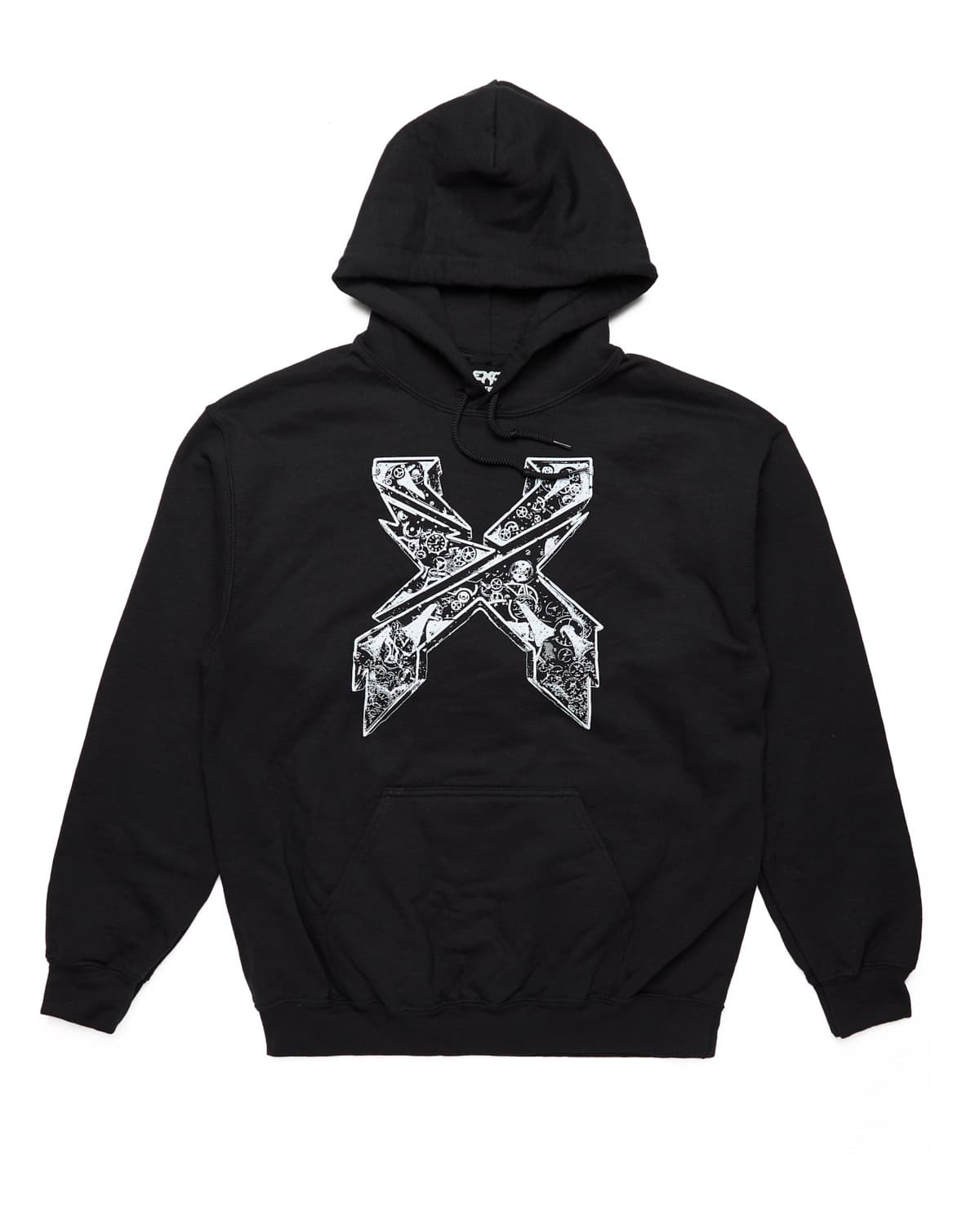 Evolution Tour Pullover Hoodie - Black